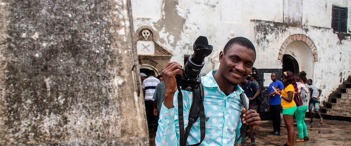 Zoumana Sidibe – A Photographer  in Ghana