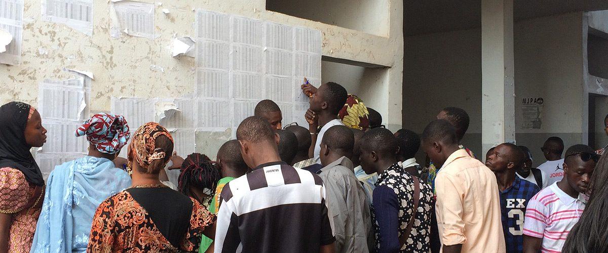 """12/2018 – Theatre Production """"Les pêcheuses de lune"""", Bamako"""