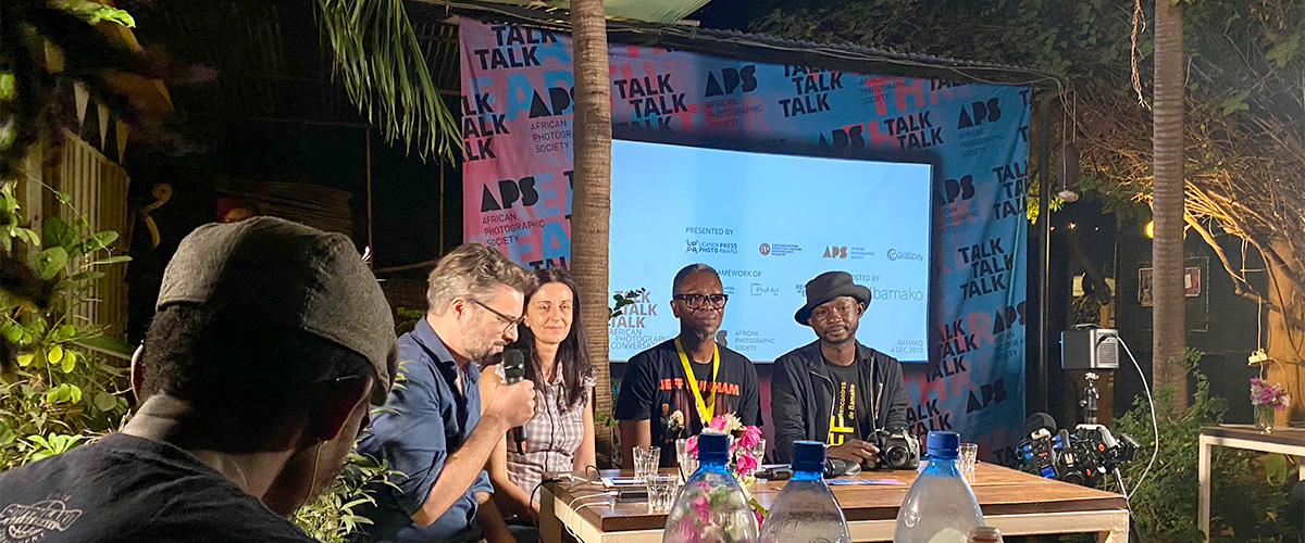 12/2019 – TALK TALK TALK at the African Biennale of Photography, Bamako